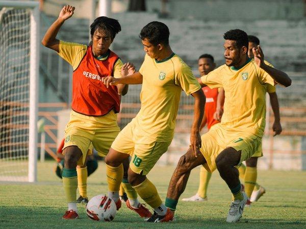 Latihan skuat Persebaya Surabaya