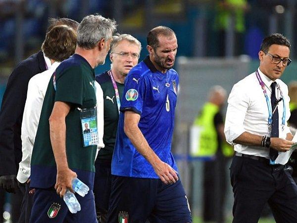 Giorgio Chiellini jamin cederanya tidak parah.