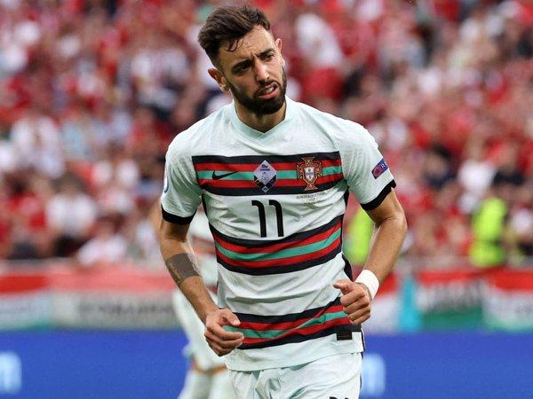 Playmaker timnas Portugal, Bruno Fernandes.