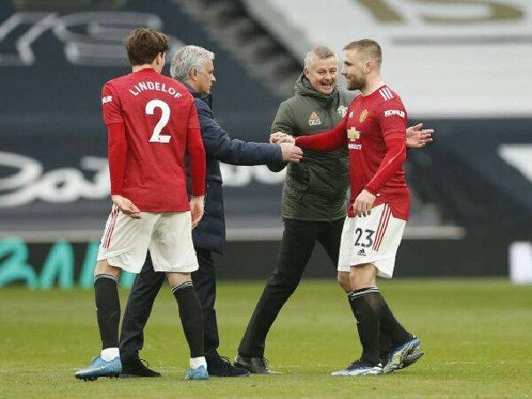 Luke Shaw ungkap hubungannya dengan Jose Mourinho di MU