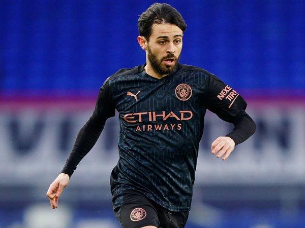 Gelandang serang Manchester City, Bernardo Silva.