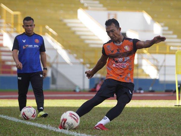 Muklis Nakata dan dua pemain lain absen dalam latihan rutin Persiraja Banda Aceh