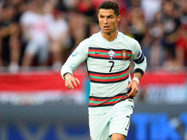 Bintang timnas Portugal, Cristiano Ronaldo.