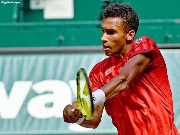 Felix Auger Aliassime meluncur ke semifinal Halle Open 2021