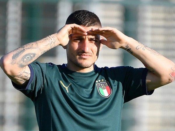 Marco Verratti boleh jadi bermain untuk pertandingan terakhir Italia di Grup A.