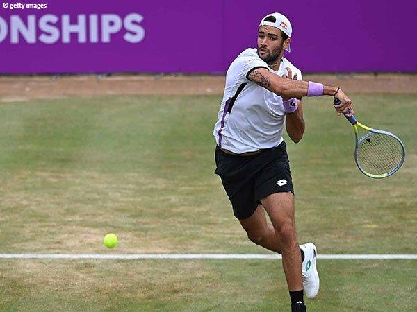 Matteo Berrettini lolos ke final Queen's Club Championships 2021