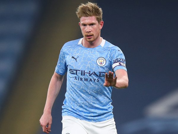 Playmaker Manchester City, Kevin De Bruyne.