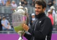 Matteo Berrettini Angkat Trofi Kemenangan Di Queen's Club Championships