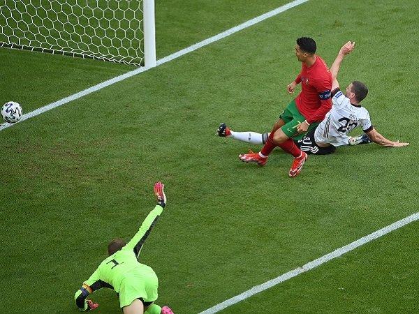 Cristiano Ronaldo gagal bawa Portugal menang atas Jerman.