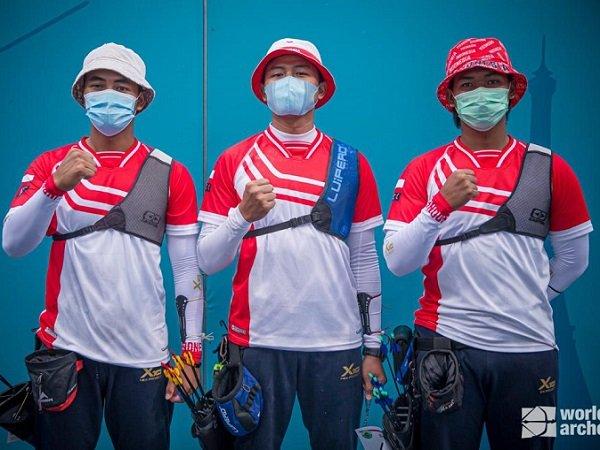 Tim Panahan Putra Indonesia lolos ke Olimpiade Tokyo 2020.