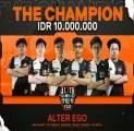 Alter Ego Raih Juara di SteelSeries Prime Invitational 2021 Indonesia