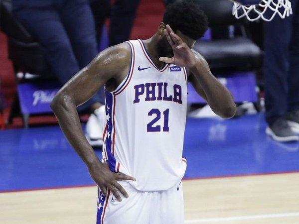 Joel Embiid meminta maaf kepada fans atas kegagalan 76ers musim ini.