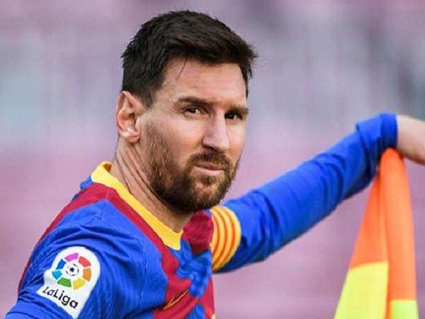 Joan Laporta berharap Lionel Messi segera perpanjang kontrak.