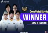 AWC 2021: Dewa United Esports Raih Kemenangan Perdana di Grup Neraka