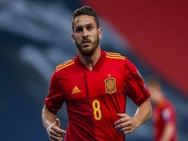 Koke memberi balasan menohok untuk Rafael Van der Vaart yang baru-baru ini mengkritik penampilan Spanyol di Euro 2020 / via Getty Images