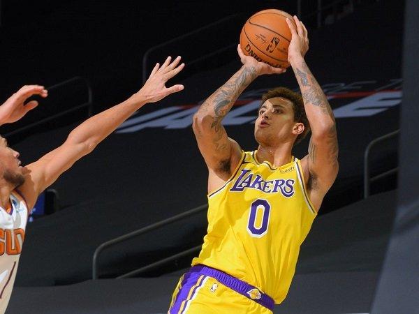Kyle Kuzma siapkan diri jika benar-benar dilepas L.A Lakers.