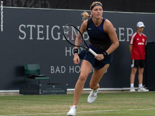 Petra Kvitova melangkah ke babak kedua Bad Homburg Open 2021