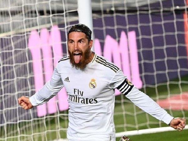 Sergio Romos lebih pilih gabung PSG daripada MU