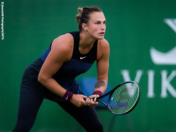 Aryna Sabalenka melangkah ke babak kedua Eastbourne International 2021