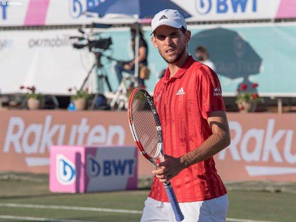 Dominic Thiem alami cedera pergelangan tangan di Mallorca Championships 2021