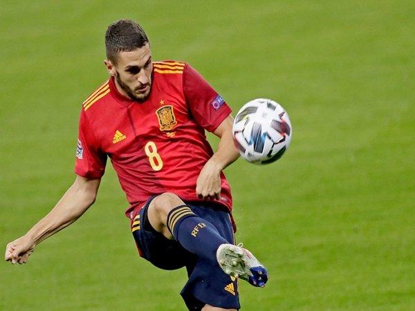Spanyol dijelekkan van der vaart, Koke tampil membela