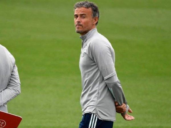 Pelatih Timnas Spanyol, Luis Enrique.