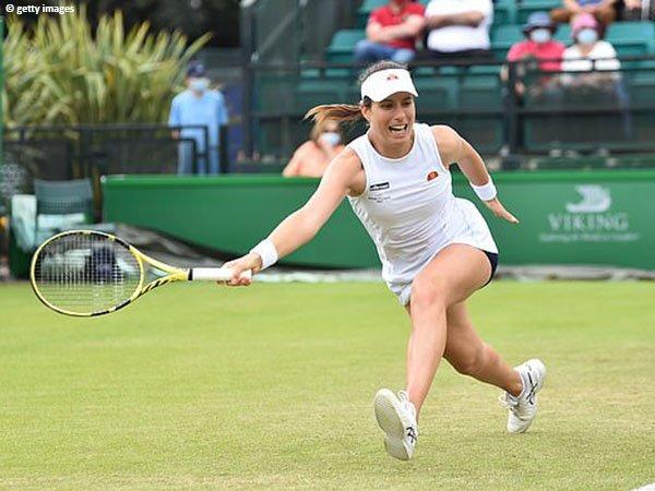 Johanna Konta berharap berada dalam kondisi prima di Wimbledon 2021
