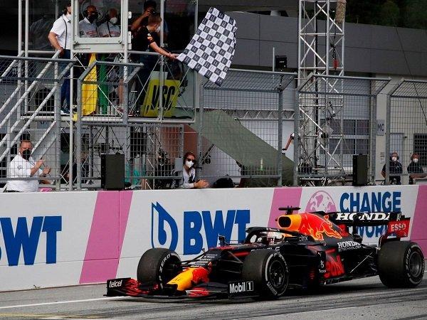 Selebrasi Max Verstappen di GP Styria tuai peringatan dari FIA.