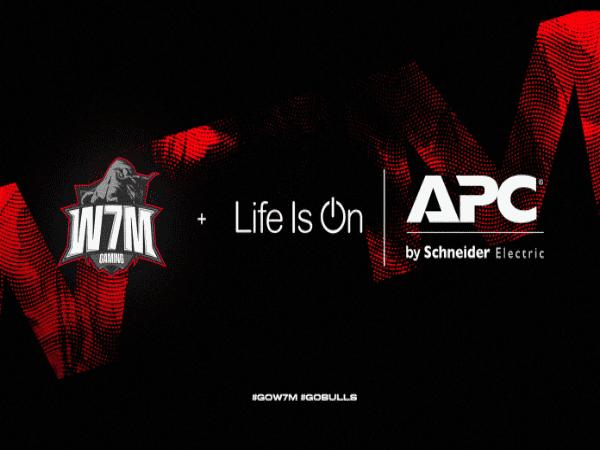 Resmi Bermitra, APC Pasok UPS untuk Organisasi Esports W7M Gaming