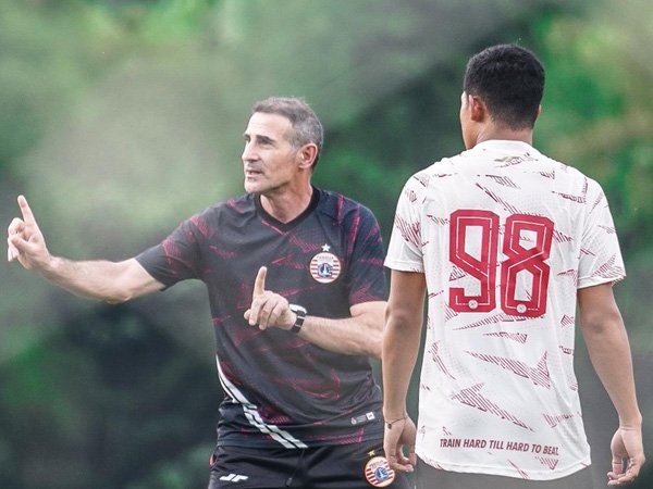 Pelatih Persija Jakarta, Angelo Alessio/foto dok Persija Jakarta