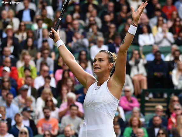 Aryna Sabalenka amankan satu tempat di babak ketiga Wimbledon 2021