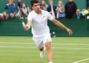 Hasil Wimbledon: Debut Di London, Carlos Alcaraz Menangkan Laga Lima Set