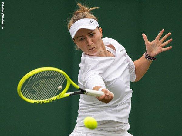 Barbora Krejcikova bukukan satu tempat di babak ketiga Wimbledon 2021