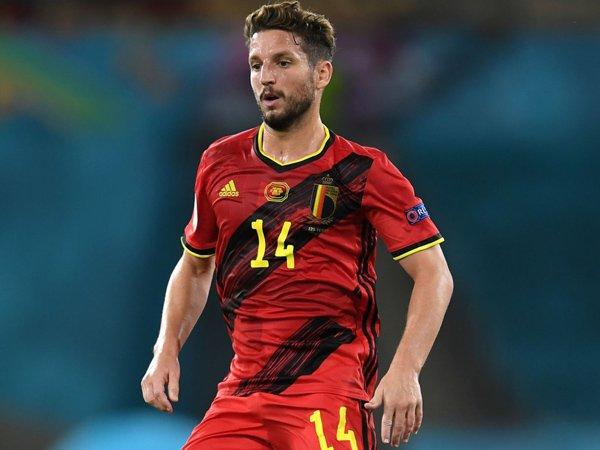 Bintang timnas Belgia, Dries Mertens.