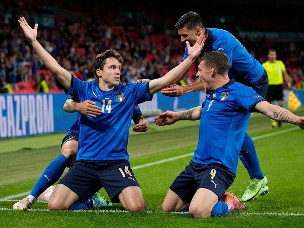 Italia berhadapan dengan Belgia pada laga perempat final Piala Eropa 2020.