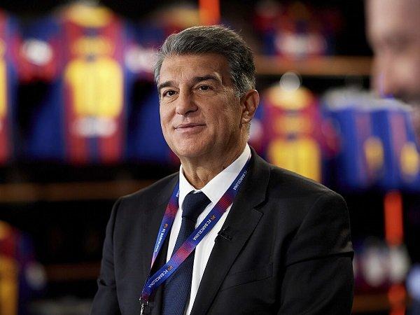 Presiden Barcelona, Joan Laporta, tetap dukung European Super League.