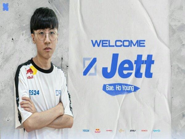 "Bae ""Jett"" Ho-young Resmi Jadi Mid Laner Baru DRX"