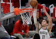 Bucks Tinggal Satu Kemenangan ke Final Usai Ungguli Hawks
