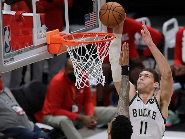 Center Milwaukee Bucks, Brook Lopez.