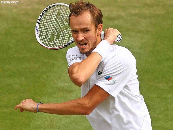 Daniil Medvedev hadang Marin Cilic di babak ketiga Wimbledon 2021