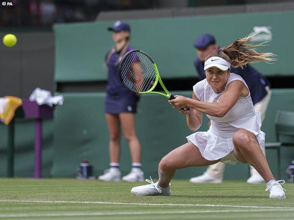 Elina Svitolina telan kekalahan pahit di babak kedua Wimbledon 2021