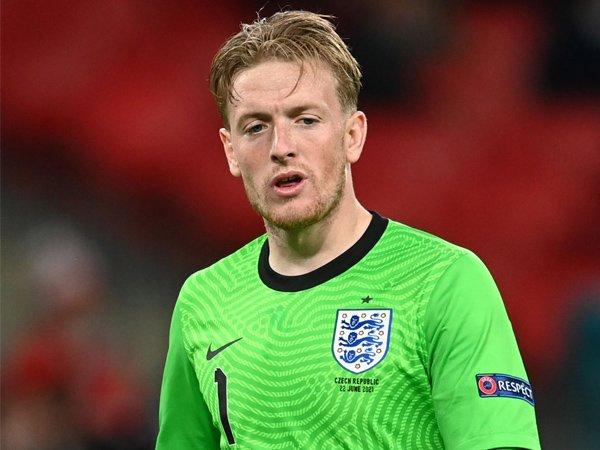 Kiper timnas Inggris, Jordan Pickford.