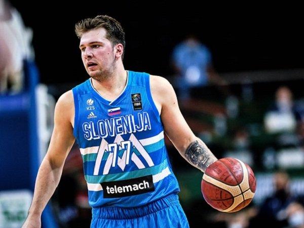 Pemain andalan Slovenia, Luka Doncic.