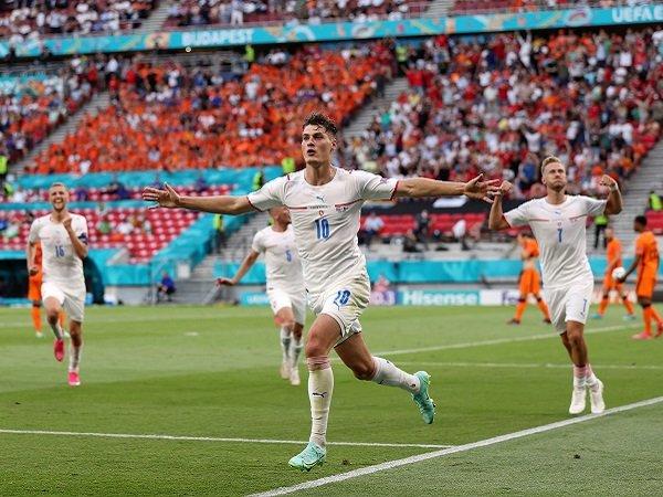 Republik Ceko berhadapan dengan Denmark pada perempat final Piala Eropa 2020.