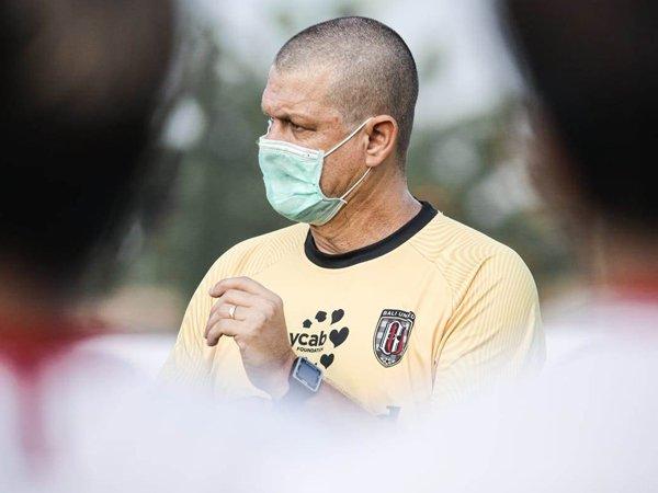 Pelatih penjaga gawang Bali United, Marcelo Da Silva Pires