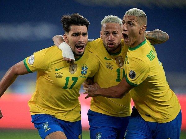 Brasil lolos ke semifinal Copa America 2021.