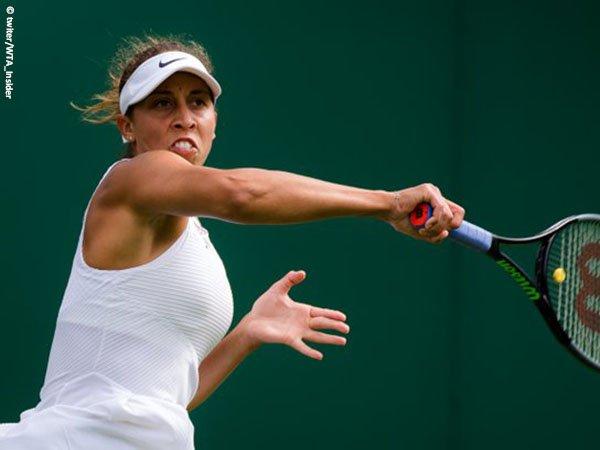 Madison Keys kembali ke babak keempat Wimbledon untuk kali pertama sejak musim 2016