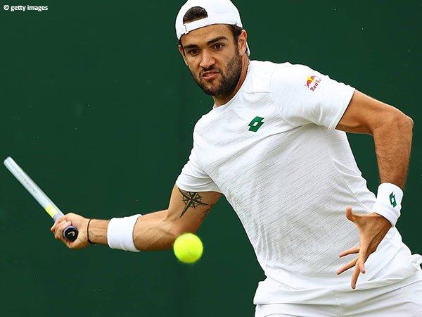Matteo Berrettini amankan satu tempat di babak keempat Wimbledon 2021