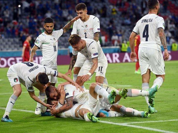 Italia melenggang ke semifinal Piala Eropa 2020.