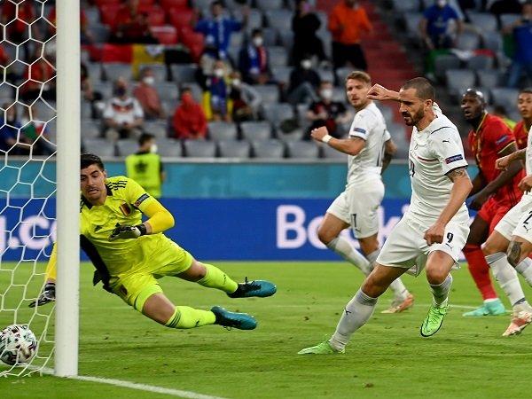 Leonardo Bonucci bahagia Italia bermain dengan dominan.